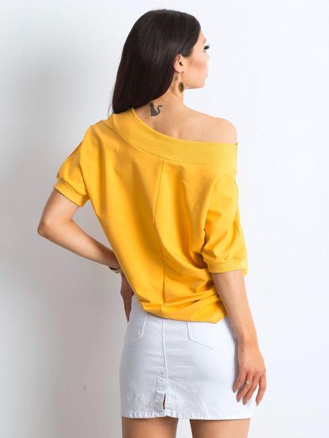 Ciemnożółta bluzka Lemontree                              zdj.                              2