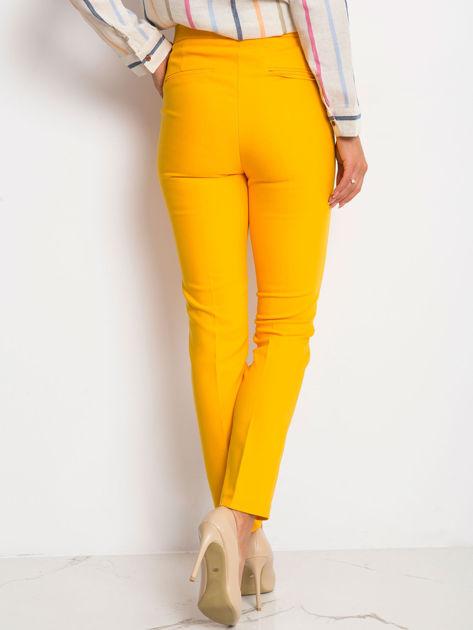 Ciemnożółte spodnie Favorite                              zdj.                              2