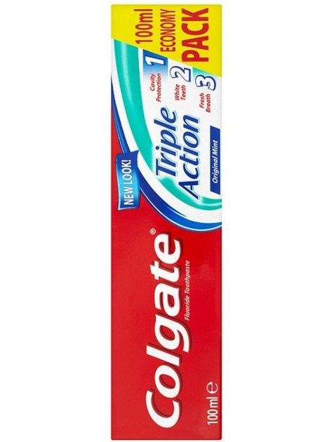 Colgate Pasta do zębów Triple Action Original Mint 100 ml                              zdj.                              1