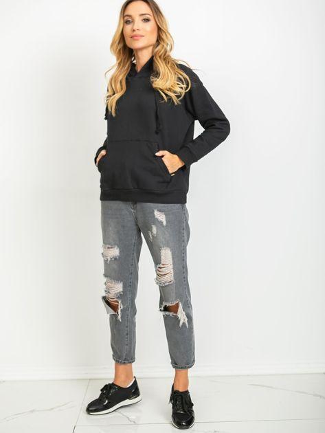 Czarna bluza Chunky                              zdj.                              4