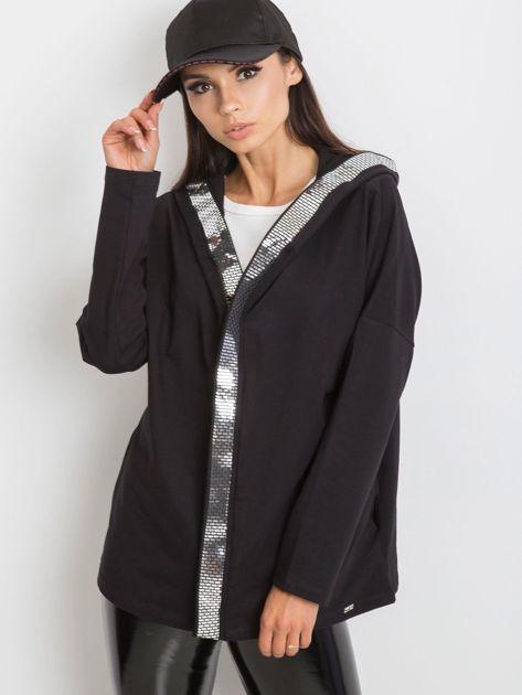 Czarna bluza Gianna                              zdj.                              5