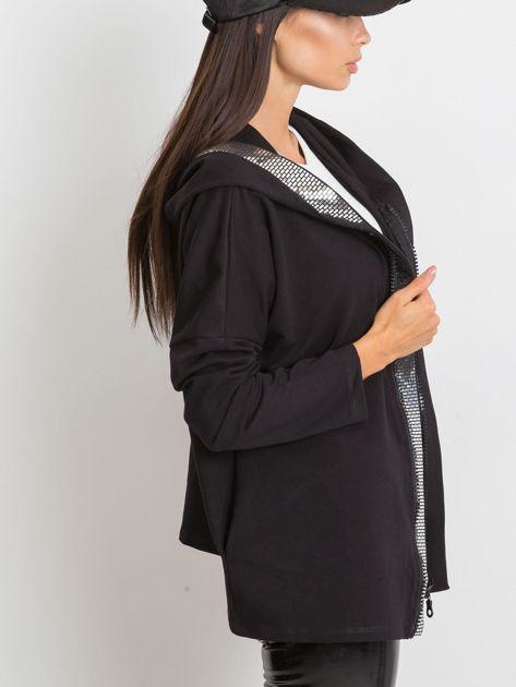Czarna bluza Gianna                              zdj.                              3