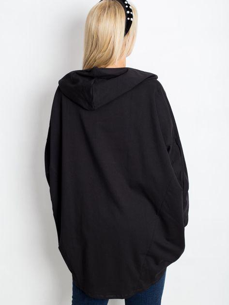 Czarna bluza plus size New                              zdj.                              2
