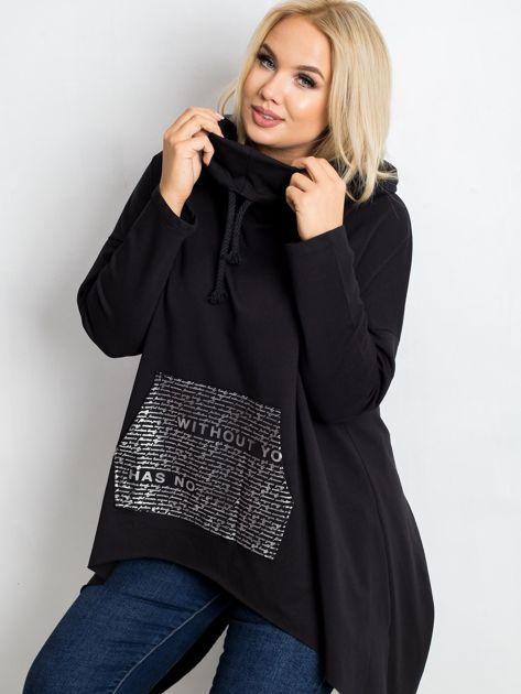 Czarna bluza plus size Without