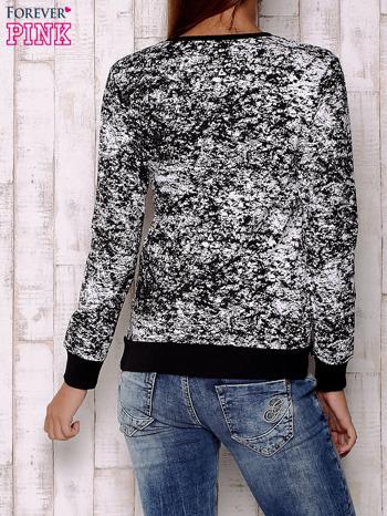 Czarna bluza ze złotym nadrukiem 90                                  zdj.                                  2