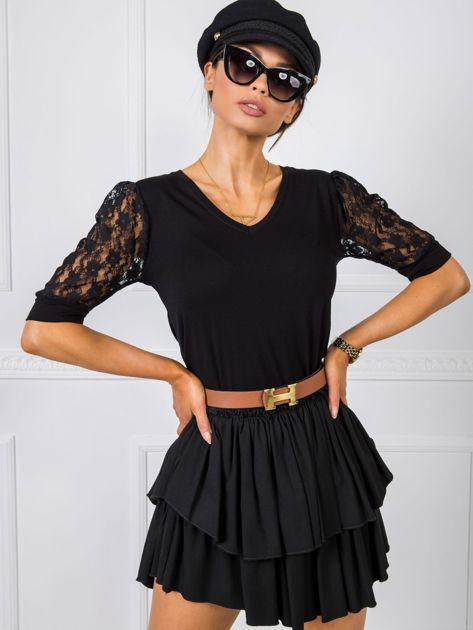 Czarna bluzka Angel RUE PARIS