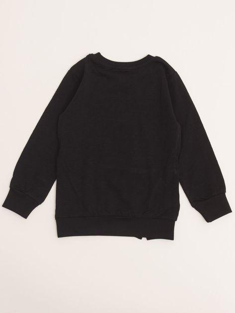 Czarna bluzka dla chłopca z bawełny                              zdj.                              6