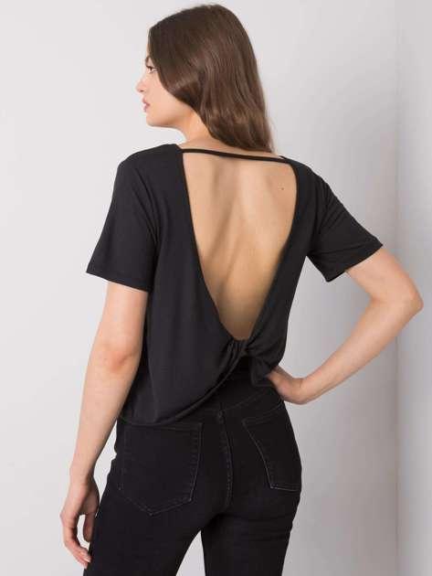 Czarna bluzka na co dzień Giselle RUE PARIS