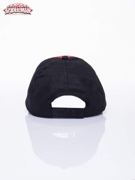 Czarna chłopięca czapka z daszkiem SPIDERMAN                                  zdj.                                  3