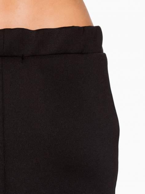 Czarna elegancka spódnica ołówkowa do kolan                                  zdj.                                  6