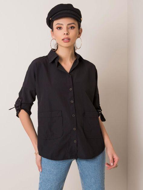 Czarna koszula Ellory RUE PARIS