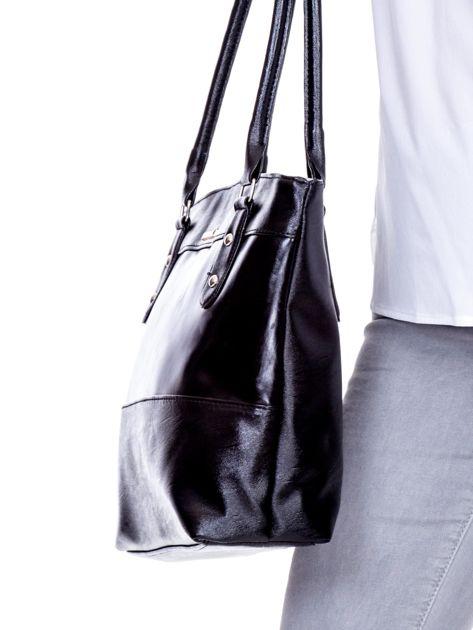 Czarna modułowa torba damska                               zdj.                              2
