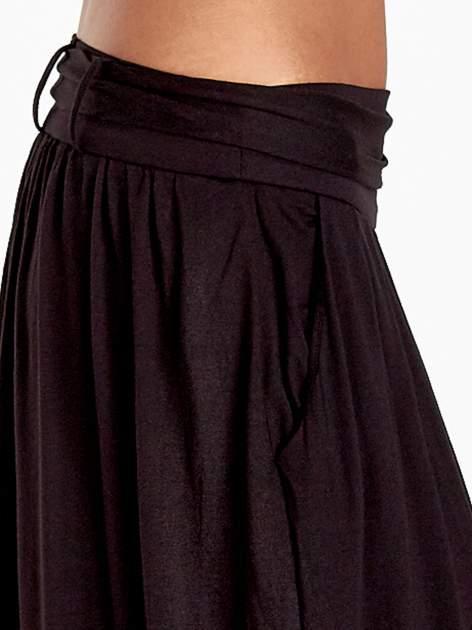 Czarna plisowana spódnica maxi                                  zdj.                                  7