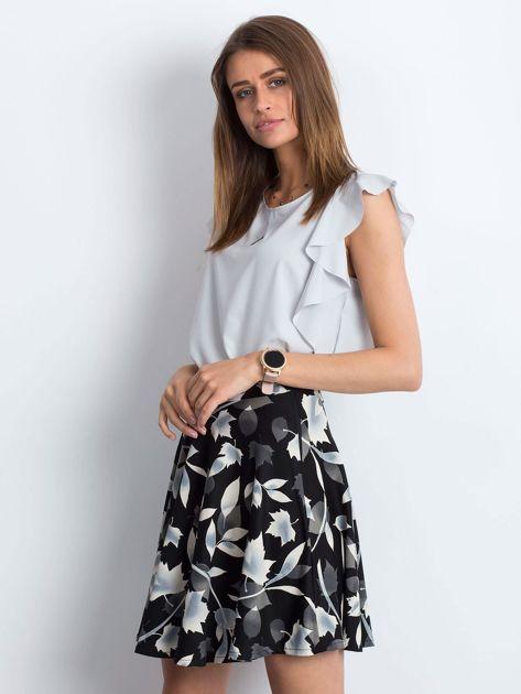 Czarna spódnica Frill                              zdj.                              3