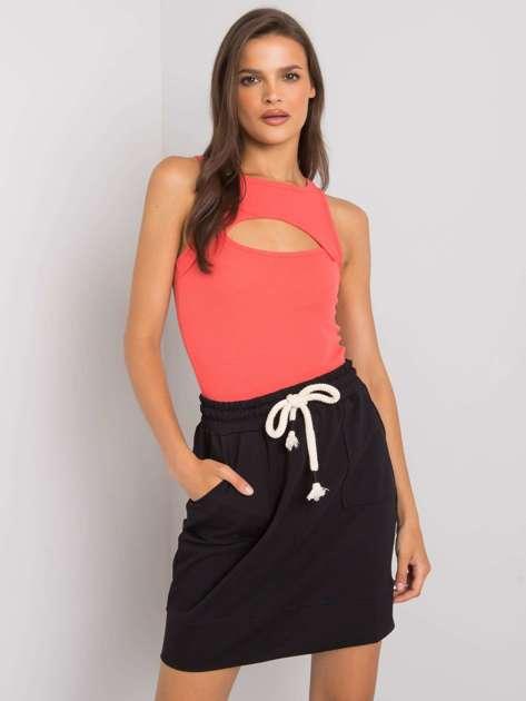 Czarna spódnica dresowa Amelia