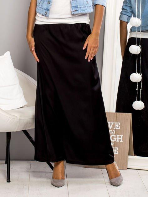 Czarna spódnica maxi                                   zdj.                                  1