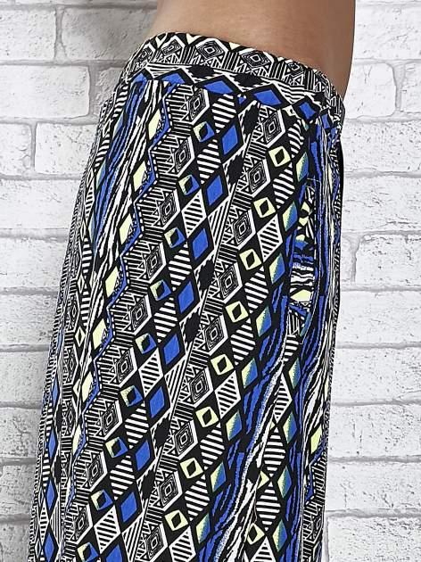 Czarna spódnica maxi w azteckie wzory                                  zdj.                                  6