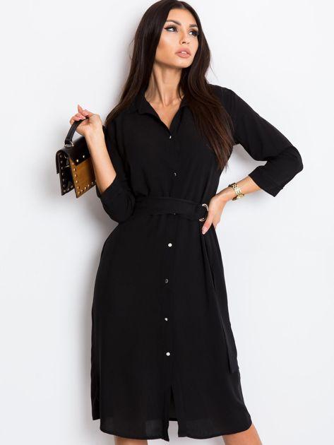 Czarna sukienka Amber                              zdj.                              1