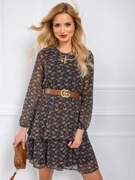 Czarna sukienka Beauty RUE PARIS