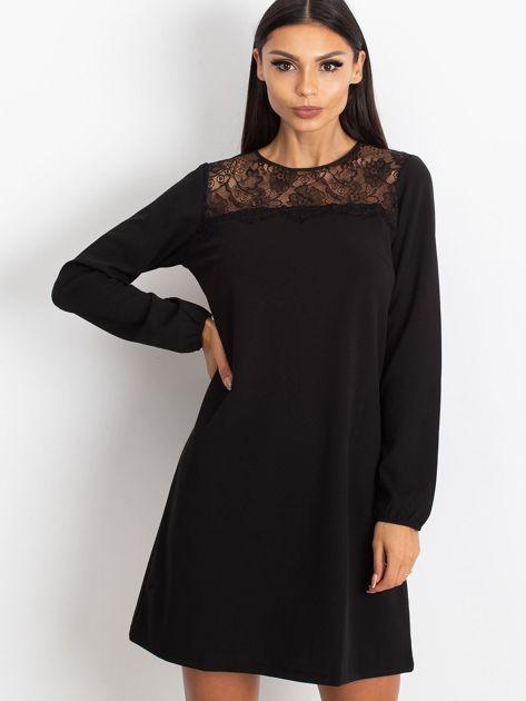 Czarna sukienka Bombay                              zdj.                              1