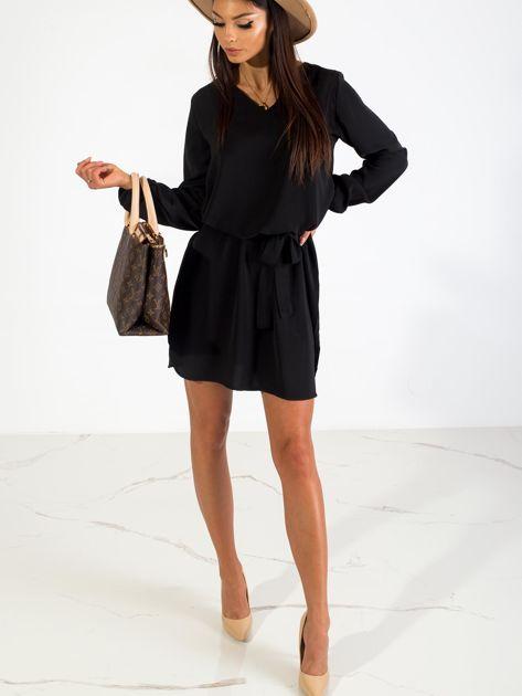 Czarna sukienka Castle                              zdj.                              4