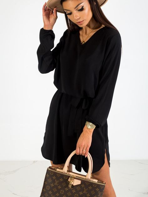 Czarna sukienka Castle                              zdj.                              2