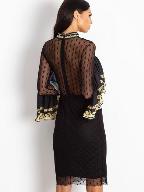 Czarna sukienka Clair                              zdj.                              2