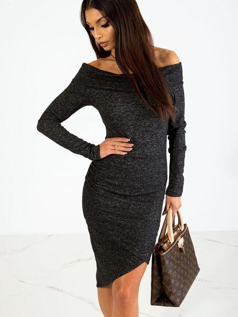 Czarna sukienka Classy                              zdj.                              1