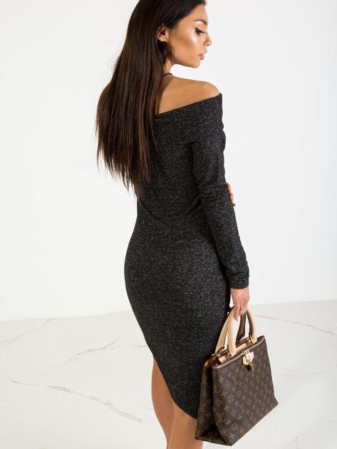 Czarna sukienka Classy                              zdj.                              2