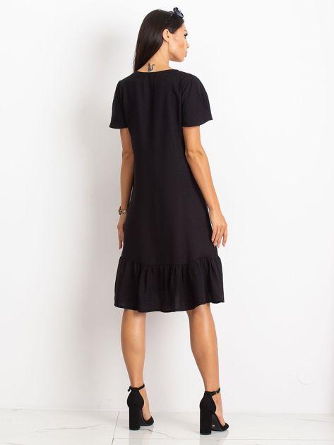 Czarna sukienka Corner                              zdj.                              2