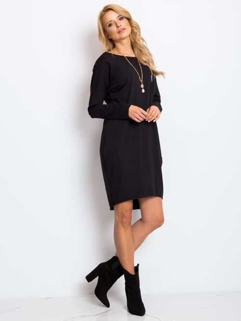 Czarna sukienka Daisy                              zdj.                              4