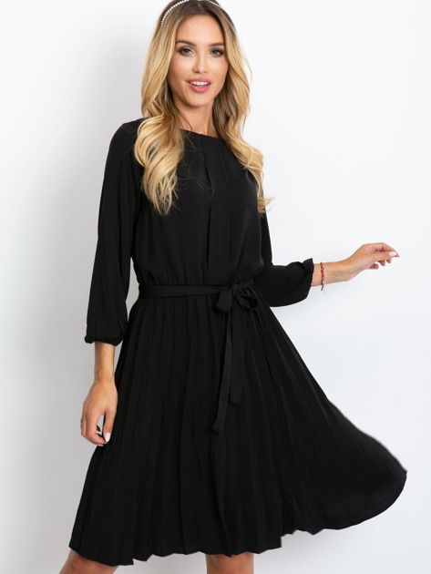 Czarna sukienka Dakota                              zdj.                              1