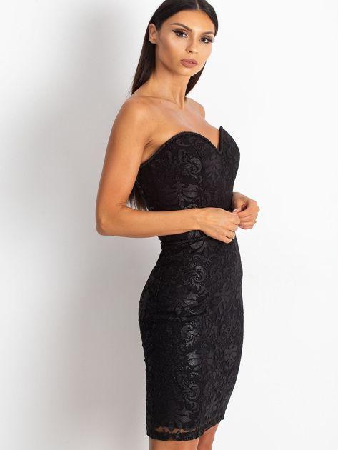 Czarna sukienka Diamond                              zdj.                              3