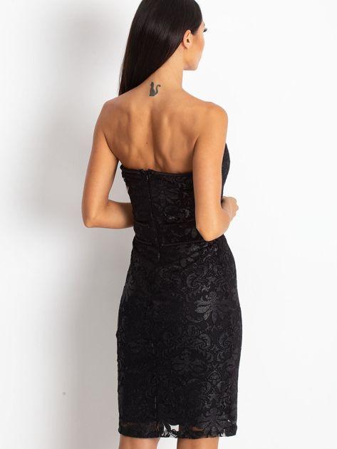 Czarna sukienka Diamond                              zdj.                              2