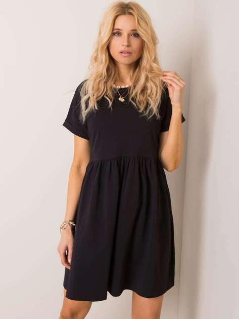 Czarna sukienka Dita RUE PARIS