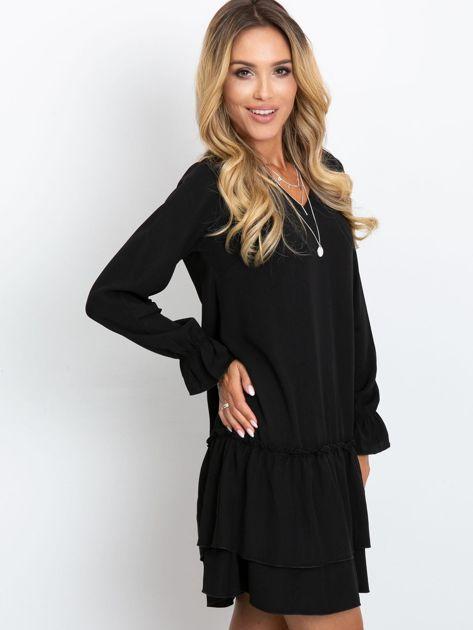 Czarna sukienka Gemma                              zdj.                              3