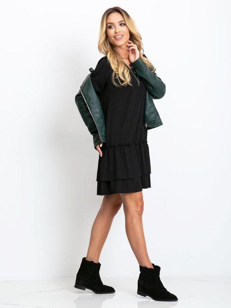 Czarna sukienka Gemma                              zdj.                              4