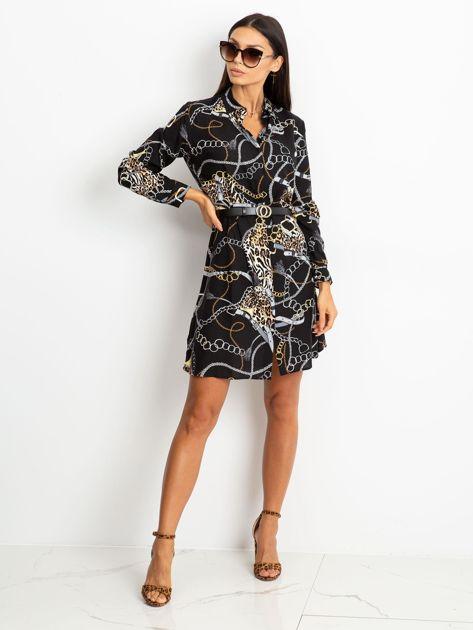 Czarna sukienka Gracia                              zdj.                              4