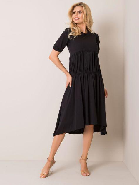Czarna sukienka Klara RUE PARIS