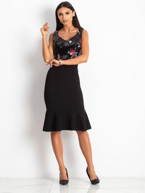 Czarna sukienka Magic                              zdj.                              4