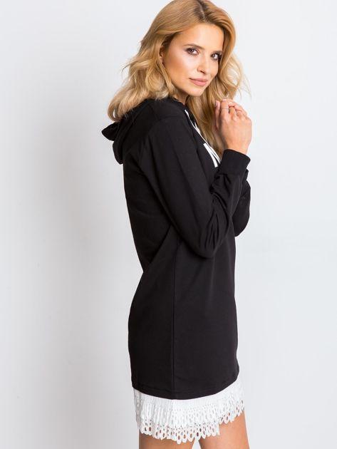 Czarna sukienka Metropolis                              zdj.                              3