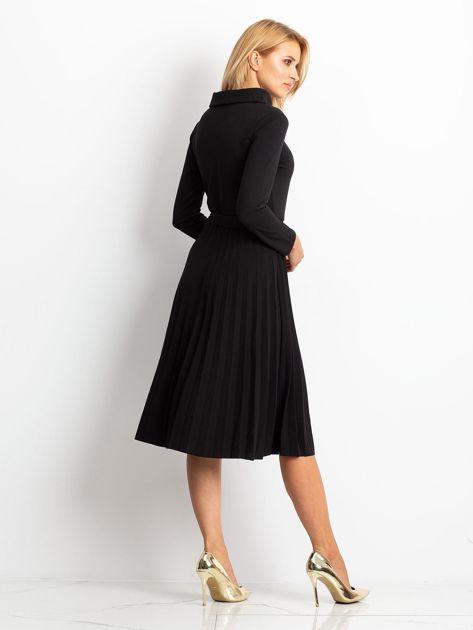 Czarna sukienka Midnight                              zdj.                              4