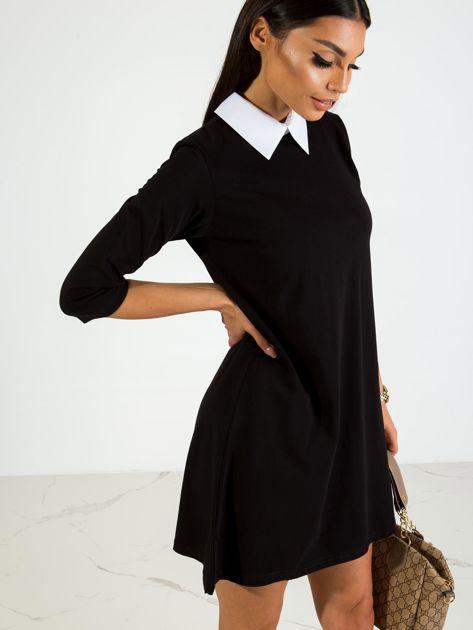 Czarna sukienka Poppy                              zdj.                              3