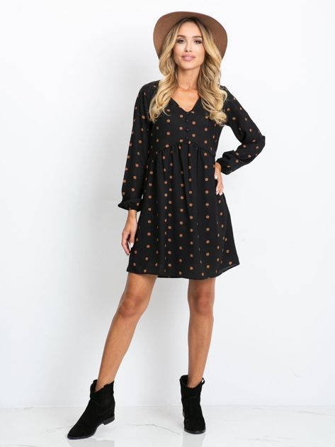 Czarna sukienka Prudence                              zdj.                              4