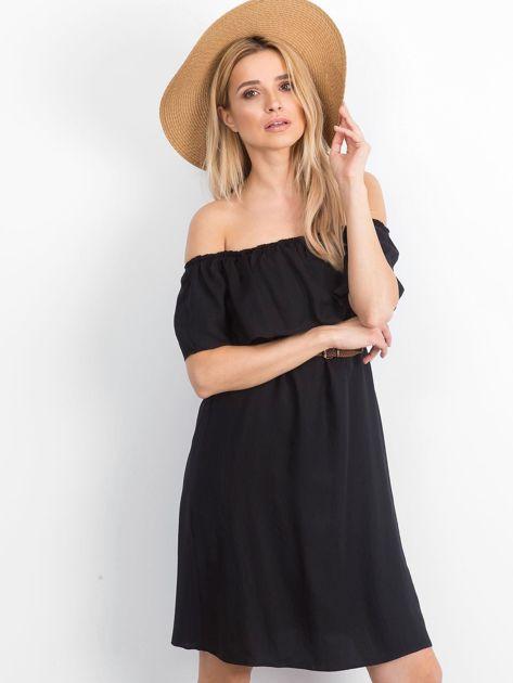 Czarna sukienka Reputedly                              zdj.                              1