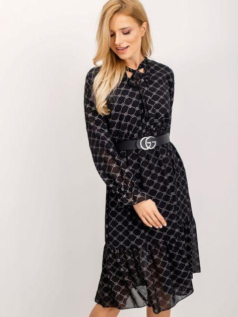 Czarna sukienka Risky