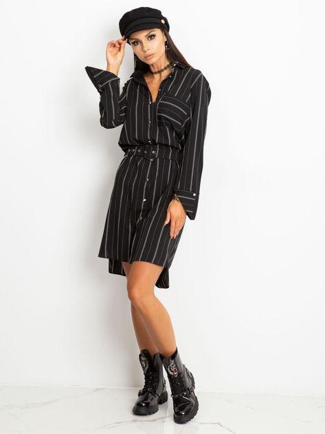Czarna sukienka Samba                              zdj.                              4