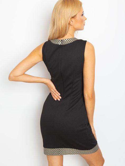 Czarna sukienka Shane                              zdj.                              2