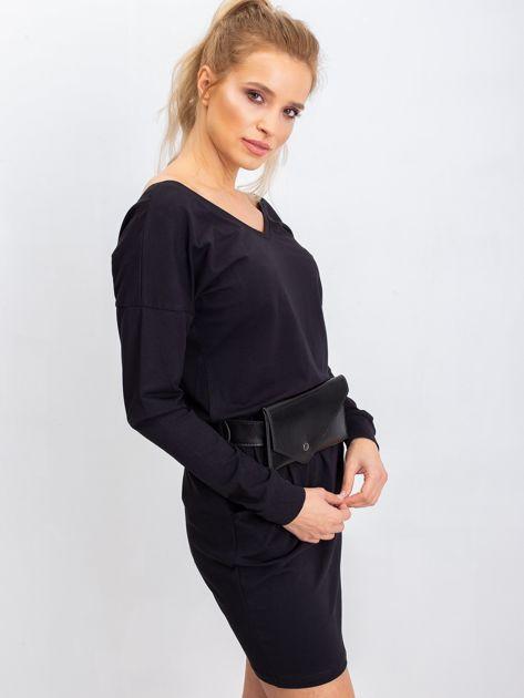 Czarna sukienka Simple                              zdj.                              3