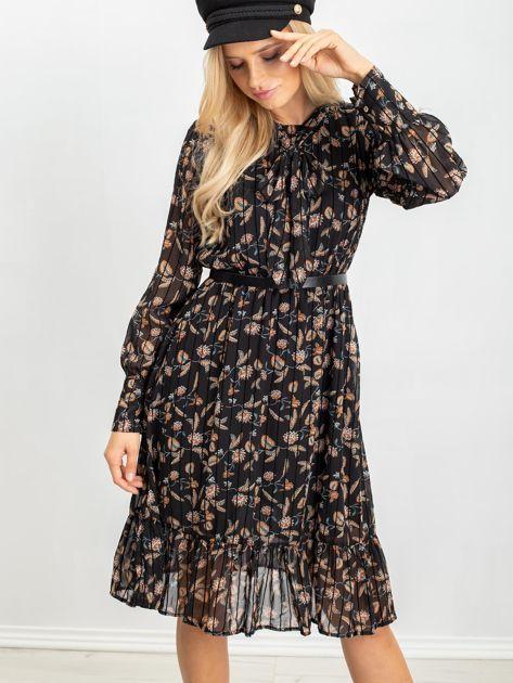 Czarna sukienka Tease                              zdj.                              6